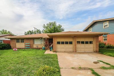 Lubbock Single Family Home For Sale: 5413 32nd Street