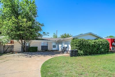 Lubbock TX Single Family Home For Sale: $101,000