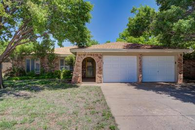 Lubbock Single Family Home Under Contract: 5106 73rd Street