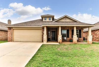 Lubbock Single Family Home For Sale: 5747 110th Street