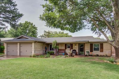 Lubbock Single Family Home Under Contract: 2512 70th Street