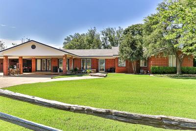 Lubbock Single Family Home For Sale: 5247 168th Street