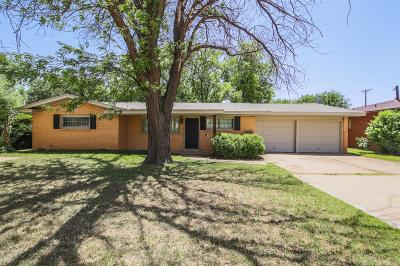 Lubbock Single Family Home For Sale: 3213 39th Street
