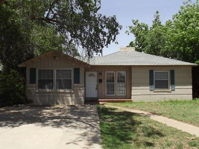 Lubbock Single Family Home For Sale: 2204 22nd Street