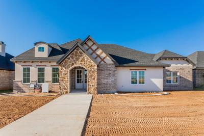 Lubbock Single Family Home For Sale: 3903 137th