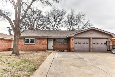 Lubbock TX Single Family Home For Sale: $168,900