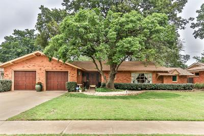 Lubbock Single Family Home For Sale: 3408 46th Street