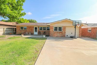 Bailey County, Lamb County Single Family Home Under Contract: 1804 W Ave I