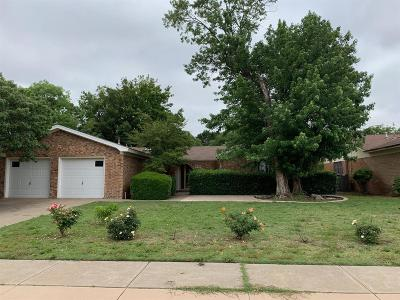 Lubbock TX Single Family Home For Sale: $124,000