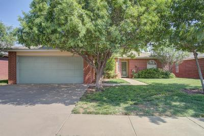 Lubbock Single Family Home For Sale: 1806 79th Place