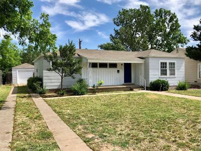 Lubbock TX Single Family Home For Sale: $209,900