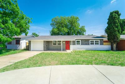 Lubbock Single Family Home For Sale: 1330 62nd Street