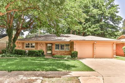 Lubbock Single Family Home For Sale: 4112 62nd Drive