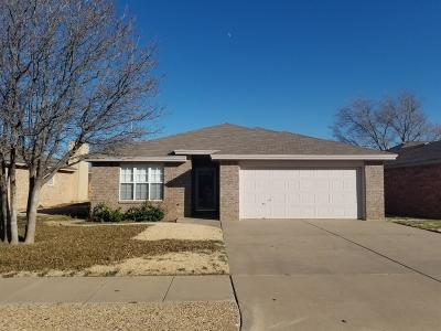 Lubbock TX Rental For Rent: $1,100