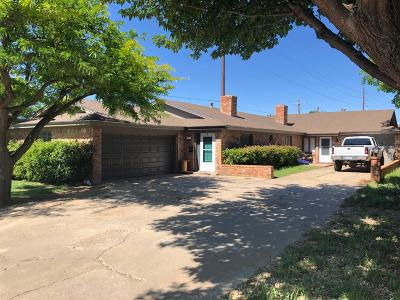 Lubbock TX Multi Family Home Under Contract: $177,850
