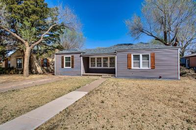 Lubbock County Single Family Home For Sale: 2110 30th Street