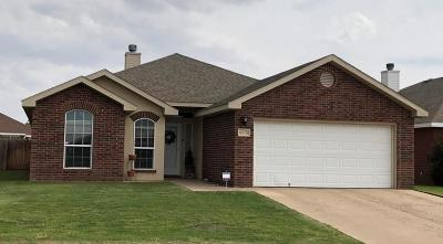 Lubbock TX Single Family Home For Sale: $171,000