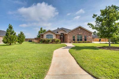 Lubbock Single Family Home Under Contract: 3308 125th Street