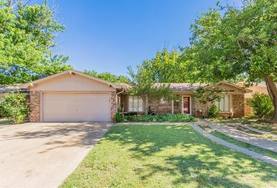 Lubbock Single Family Home For Sale: 2624 76th Street
