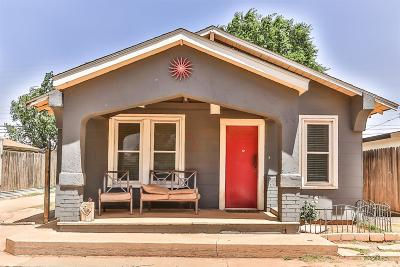 Lubbock Single Family Home For Sale: 2116 35th Street