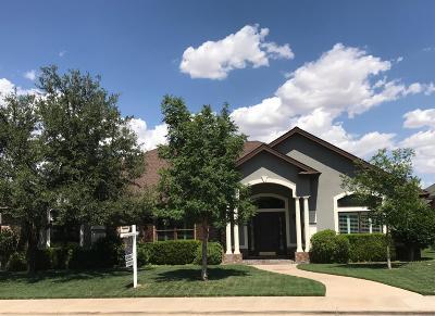 Lubbock Single Family Home For Sale: 9803 Savannah Avenue