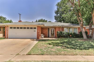 Lubbock Single Family Home For Sale: 5426 9th Street