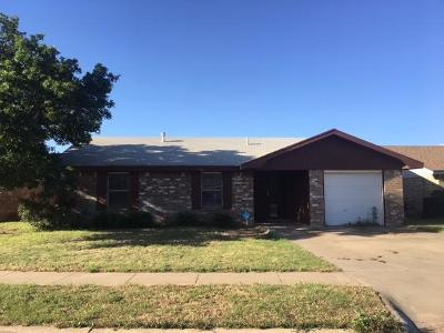 Lubbock Single Family Home For Sale: 5907 16th Street