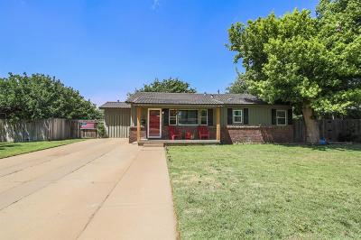 Lubbock Single Family Home For Sale: 3712 38th Street
