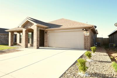 Lubbock Single Family Home For Sale: 7523 103rd Street