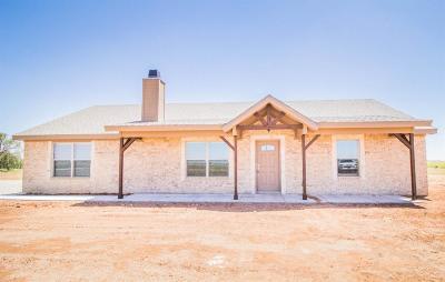 Lubbock Single Family Home For Sale: 3804 E Farm Road 1729