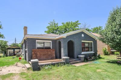 Lubbock Single Family Home Under Contract: 2109 23rd Street