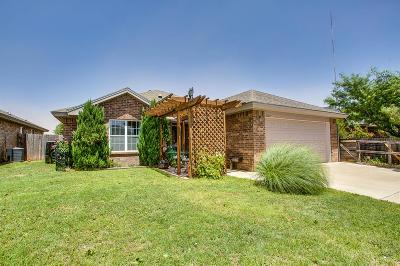 Lubbock Single Family Home For Sale: 2022 86th Street