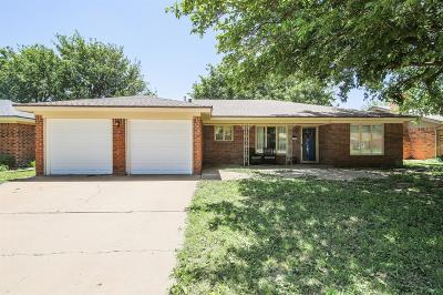 Lubbock Single Family Home For Sale: 3209 93rd Street