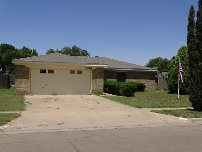 Lubbock Rental For Rent: 5918 16th Drive