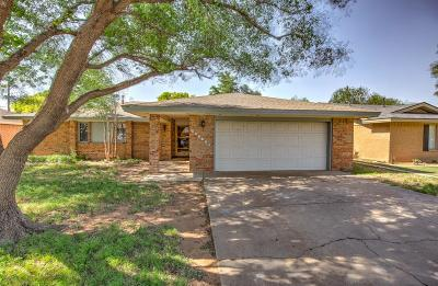 Lubbock Single Family Home For Sale: 5203 95th Street