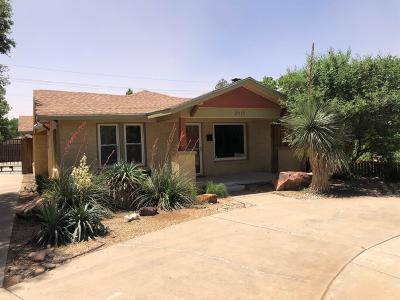 Lubbock Single Family Home Under Contract: 2615 21st Street
