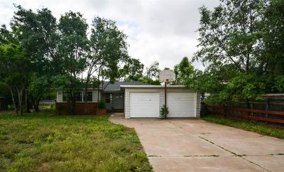 Lubbock Single Family Home For Sale: 2117 39th Street
