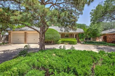 Lubbock Single Family Home For Sale: 3312 80th Street