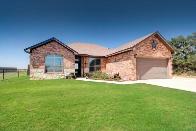 Lubbock Single Family Home For Sale: 3804 Farm Road 1294