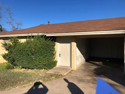 Lubbock Multi Family Home For Sale: 1614 58th Street