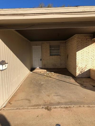 Lubbock Multi Family Home For Sale: 1622 58th Street