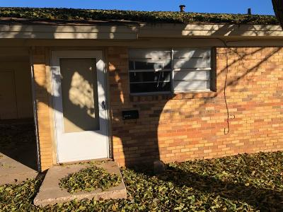 Lubbock Multi Family Home For Sale: 1630 58th Street