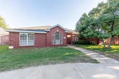 Lubbock Single Family Home For Sale: 5802 83rd Street