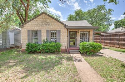 Lubbock Single Family Home For Sale: 2709 22nd Street