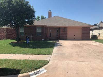 Lubbock County Single Family Home Under Contract: 1127 78th Street