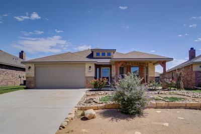 Lubbock TX Single Family Home Under Contract: $233,500