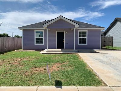 Lubbock County Single Family Home Under Contract: 2703 Cornell Street