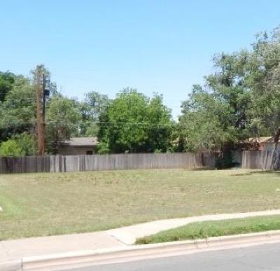 Lubbock County Residential Lots & Land Under Contract: 1712 26th Street