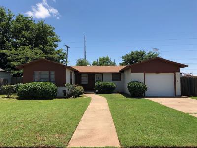 Lubbock County Single Family Home For Sale: 1317 65th Street