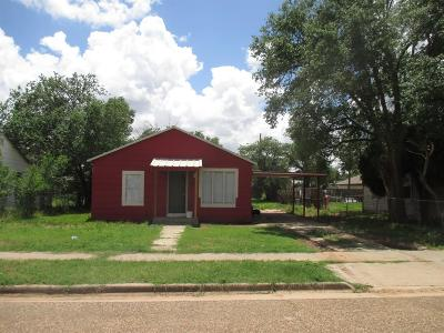 Lubbock County Single Family Home Under Contract: 2707 Duke Street